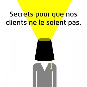 Illustration Secrets pour que nos clients ne le soient pas
