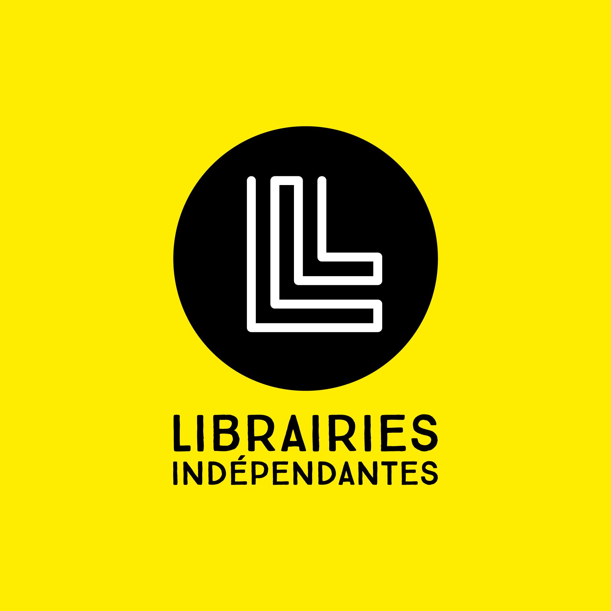 Identité visuelle Librairies Indépendantes, par l'agence secrète