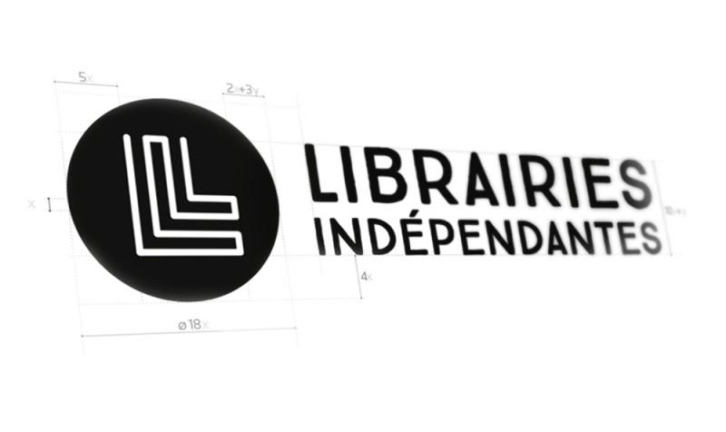 Construction du logo Librairies Indépendantes agence secrète