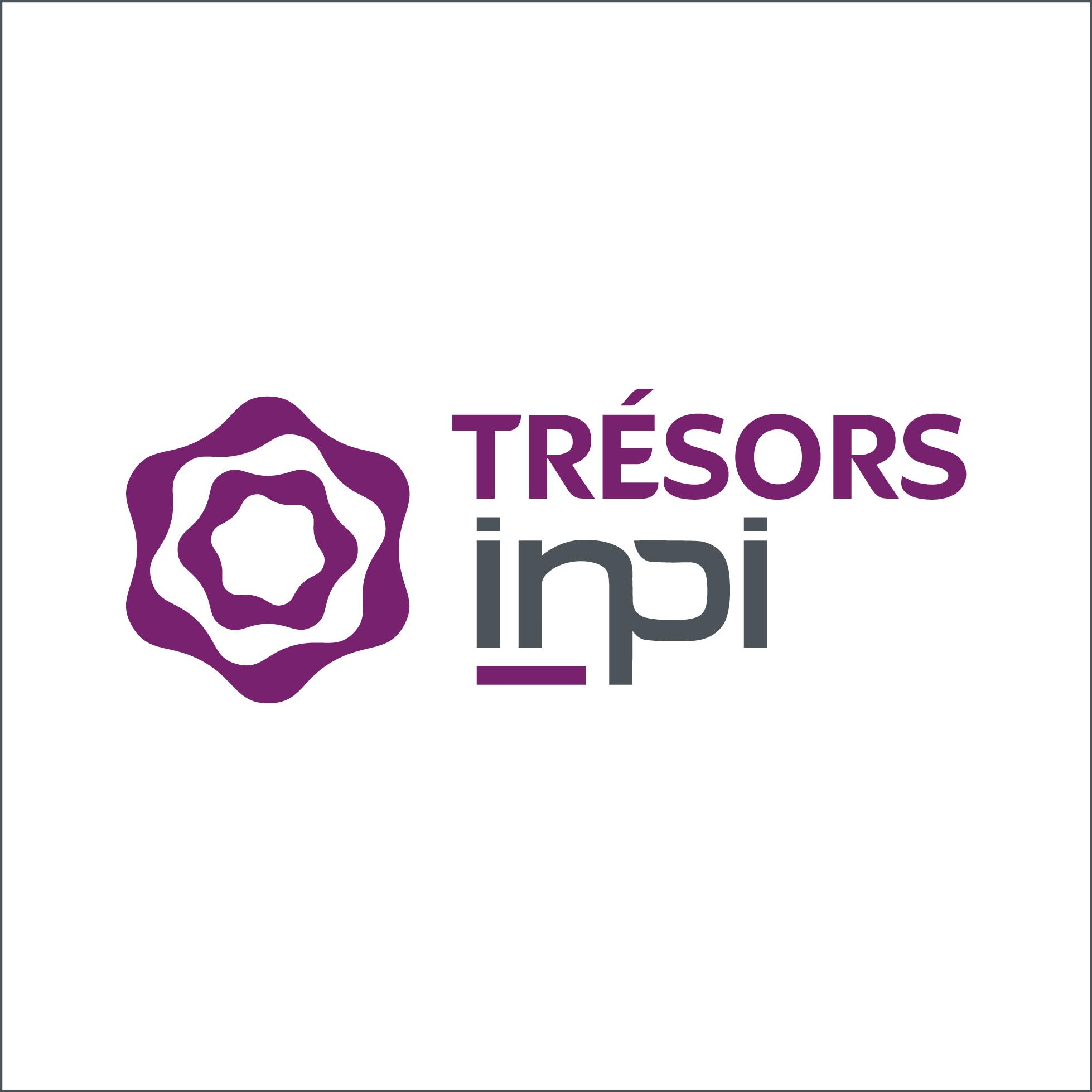 Logo Trésors INPI par l'agence secrète