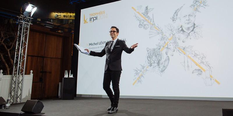Identité visuel de la cérémonie des Trophées de l'INPI 2014 par l agence secrète