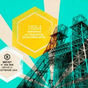 Brevet tour Eiffel de Gustave Eiffel, agence secrète pour INPI Trésors