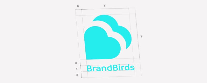 Logo BrandBirds créé par l'agence secrète